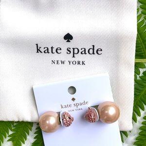 NWT Kate ♠️ Spade Imagination Reversible Earrings